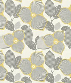 Amy Butler Optic Blossom Linen Fabric - $8.95 | onlinefabricstore.net