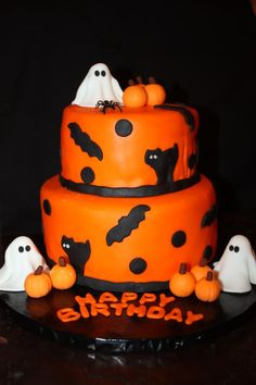 Halloween Birthday witch cake By MamaNenascakes on CakeCentralcom