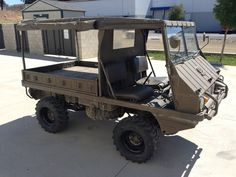 Military Vehicles For Sale, Army Vehicles, Armored Vehicles, Military Engineering, Atv Car, Bug Out Vehicle, Utility Trailer, Steyr, Military Gear