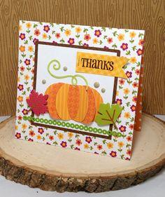 Thanks Pumpkin Card by Christine Meyer Guest Designer for 17turtles Digital Cut Files