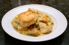 Slow Cooker Creamy Chicken with Biscuits: Chicken With Biscuits