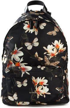 Givenchy floral print backpack #bag #backpack