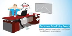 Small and medium businesses fail at improving speed and accuracy of data entry. Common data entry errors are costing them losses in money, time and missed out customer opportunities. Data Quality, Data Entry, Improve Yourself, Data Feed
