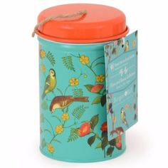 Buy RHS Burgon and Ball flora & fauna twine in a tin - Elegant twine tin from the new RHS collection: Delivery by Waitrose Garden in association with Crocus Live Coral, Jute Twine, Gardening, Garden Gifts, Flora And Fauna, Zara Home, Dose, Color Of The Year, Garden Styles