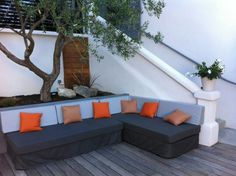 Outdoor Sectional, Sectional Sofa, Casamance, Outdoor Furniture, Outdoor Decor, Decoration, Home Decor, Atelier, Marseille