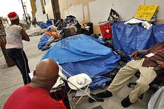 LA INJUNCTION ALLOWS 'SKID ROW' RESIDENTS TO POLLUTE STREETS WITH HUMAN WASTE, NEEDLES