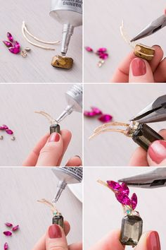 How to DIY this lovely ear cuff