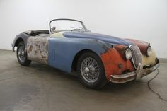 1958 Jaguar XK150 Roadster | Beverly Hills Car Club