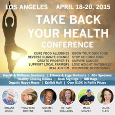 Join me in Los Angeles next month at the Take Back Your Health conference! Speakers include Dr. Cate Shanahan, author of Deep Nutrition, Mark McAfee of Organic Pastures Raw Dairy, Adriene Mishler of Yoga with Adriene, Bryant McGill of Simple Reminders, and many more!  Click here to learn more and save on the early bird discount:  http://www.cheeseslave.com/join-me-at-the-take-back-your-health-conference-april-2015-in-los-angeles/
