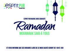 #Ramadan Moubarak Said à tous !