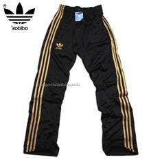 Manchester Adidas Originals Mens Training Pants Black Yellow Make You Become More Chic
