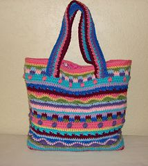The Katie Tote pattern by sabrina goodson