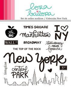 New York Stamps - Lora Bailora