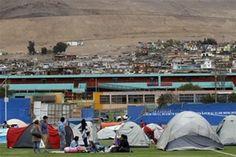 LA VOZ SIN CENSURA: Más de 9.500 viviendas dañadas en Chile por terrem...