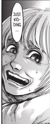 When I read this part in the manga it kinda freaked me out because it wasn't like Armin to act like this... | Attack on Titan | Shingeki no kyojin