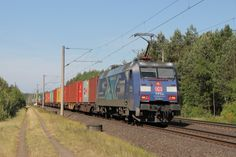 Trains and locomotive database and news portal about modern electric locomotives, made in Europe. Db Ag, Electric Locomotive, German, Europe, Adventure, Vehicles, Deutsch, German Language, Car