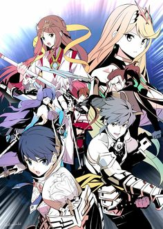 Xenablade Torna the golden country Xeno Series, Xenoblade Chronicles 2, Best Rpg, Video Game Art, Video Games, Darling In The Franxx, Manga Games, Super Smash Bros, Fire Emblem