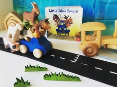 Little Blue Trucks, Helping Hands, Wooden Toys, Best Friends, Alice, Shell, Play, Books, Instagram