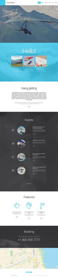 Template 55725 - Ensegna Themes | Лендосы | Pinterest | Einfach ...
