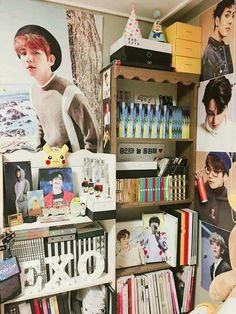 Image finish consequence for exo l room picture consequence Army Room Decor, Teen Room Decor, Bedroom Decor, Boho Duvet Cover, Kpop Diy, Exo Album, Aesthetic Room Decor, Kpop Merch, Bts And Exo