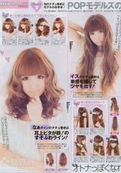 Cute Japanese Hairstyles <3