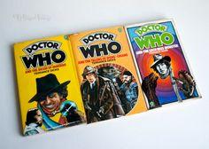 DOCTOR WHO 3x 1970s Terrance Dicks Tom Baker Target Adventure Novels by UpStagedVintage on Etsy