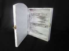 Shabby Chic Key Cabinet by BoutiqueClaire on Etsy