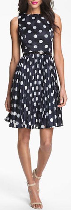 burnout polka dot dress http://rstyle.me/n/h58nzr9te