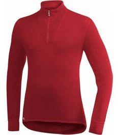 Woolpower ZIP TURTLENECK 200 czerwony Cena 359.00 PLN $112
