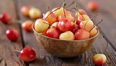 Health benefits of those delicious cherries.