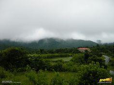 A view from Talakaveri road in Bhagamandala at Coorg, Kodagu district, Karnataka