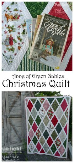 This Anne of Green Gables Quilt is as simple and timeless as the beloved books by L.M. Montgomery.  Make your own with this free pattern.  B...