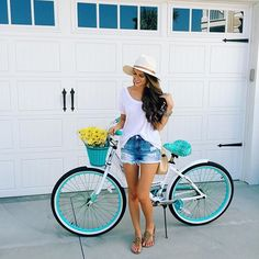 Wore this boyfriend tee to ride bikes  it is officially the softest clothing…