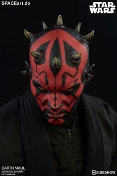 Star Wars: Darth Maul, Deluxe-Figur (voll beweglich) ... https://spaceart.de/produkte/sw117.php