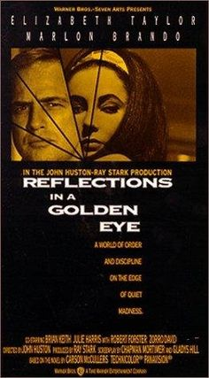 Reflections in a Golden Eye (1967)~Of course you're laughing at it, but there's much to be said for the life of men among men... with no... luxuries, no ornamentation.
