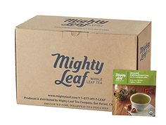 Mighty Leaf Organic Emerald Matcha Green Tea, 100 count Bulk Tea Pouches * Find out more about the great product at the image link.