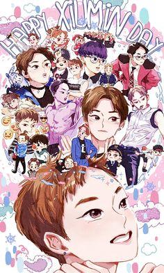 2016 Xiumin's birthday  #exo  #xiumin