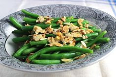 Green Beans Amandine is a Delicious and Easy Side Dish Recipe: Green Beans Amandine