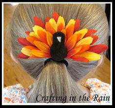 Flower Turkey | Crafting in the Rain