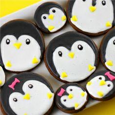 #Penguin #Gingerbread #Cookies