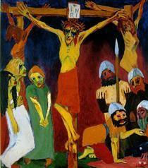 Crucifixion - Emil Nolde