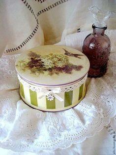"""Подарочная коробочка """"Сирень"""" - салатовый,коробочка для подарка,коробочка для украшений"""