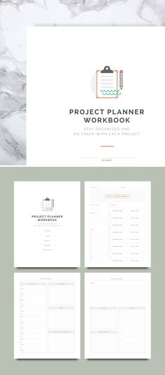 Project Planner Worksheets | Spruce Rd. for Elle & Co