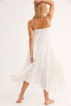 White Sundress, Free People Maxi Dress, Free People Store, Beach Dresses, Santorini, Clothes, Bridal Shower, Style, Summer
