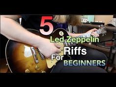 5 Led Zeppelin Riffs Perfect For Beginners ( With Tabs) Basic Guitar Lessons, Electric Guitar Lessons, Guitar Lessons For Beginners, Music Lessons, Electric Guitars, Guitar Tips, Guitar Songs, Guitar Chords, Easy Guitar