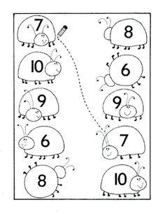 #sayılar #sayıboyama #okulöncesi #sınıfetkinliği Kindergarten Math Activities, Kids Learning Activities, Preschool Activities, Numbers Preschool, Learning Numbers, Maternelle Grande Section, French Language Lessons, Printable Preschool Worksheets, Kids Education