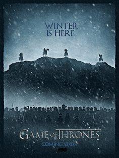 Winter is Here (Game of Thrones Season 7) by InfinitySilver-Art.deviantart.com on @DeviantArt