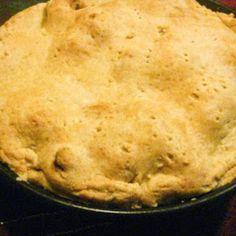 Momma Mac & Li'l Mac's Spiced Apple Pie  vegan, plantbased, earth balance, made just right