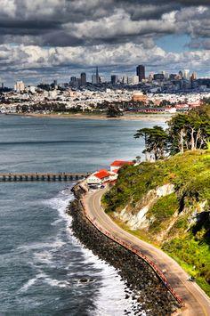 San Francisco - vista desde Presidio Park | California #Viajology