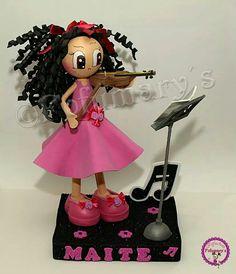 Fofucha violinista